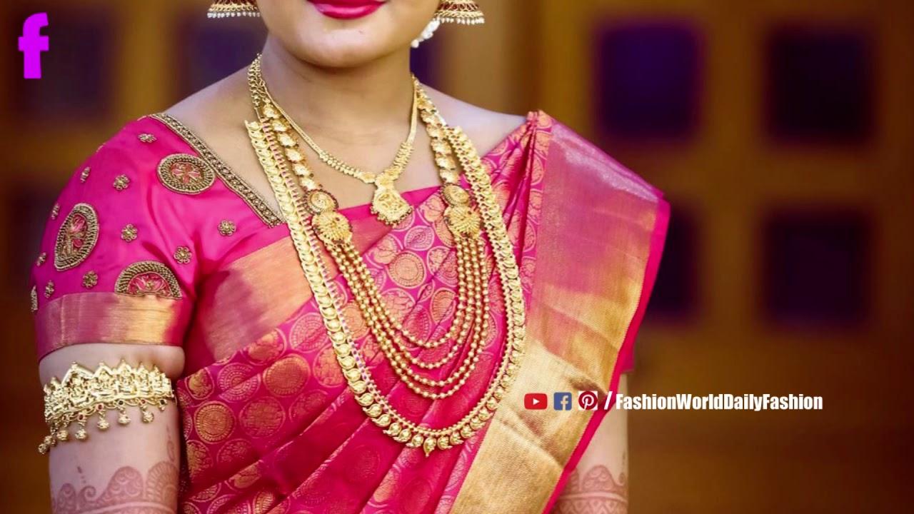 Latest Designer Exclusive Saree Collection Of 2019 Exclusive Wedding Saree Collection Youtube