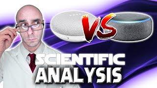 Google Mini VS Echo Dot 3 : Scientific Unbiased Analysis