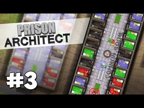 Prison Architect Modded #3 - GANG TAKEOVER