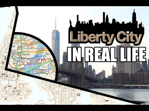 Liberty City en la vida real (NEW YORK vs LIBERTY CITY)