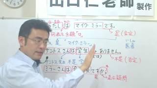 大家的日本語第01課文型