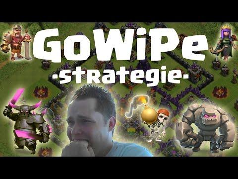 GoWiPe - Angriffsstrategie #1 || CLASH OF CLANS || Let's Play CoC [Deutsch/German HD]