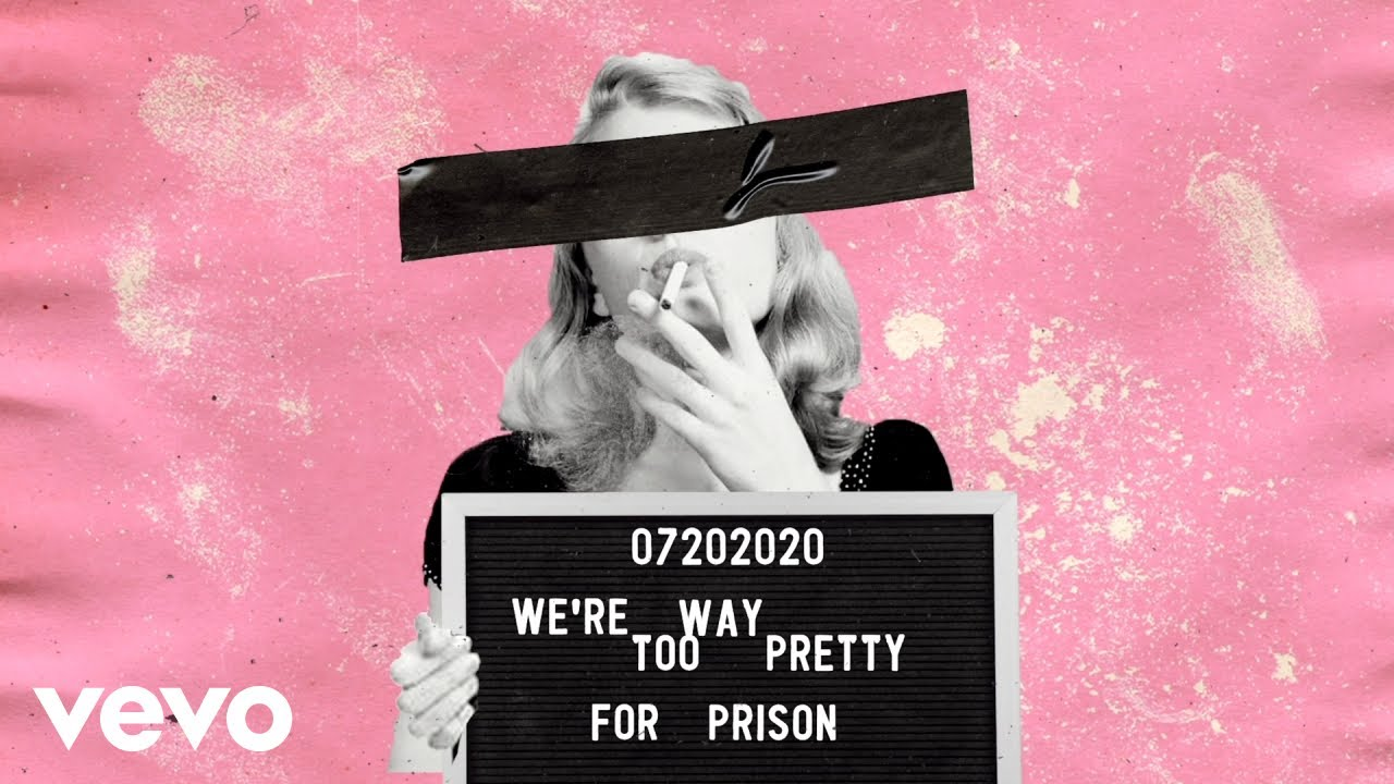 Miranda Lambert - Way Too Pretty for Prison (Lyric Video)