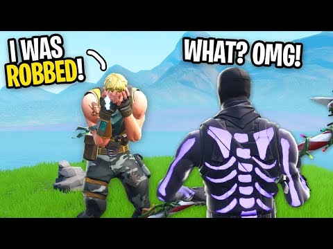 I Met A Random Duo Who Got His HOUSE ROBBED on Fortnite...