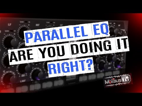 Eq on Parallel Compression Channels Explained: Easiest way to solve phase problems