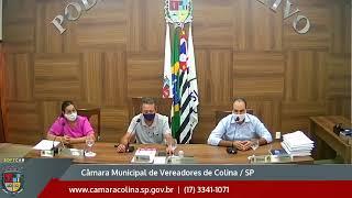 Câmara Municipal de Colina - 15ª Sessão Extraordinária 21/12/2020
