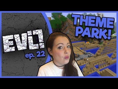 Minecraft Evolution SMP - Theme Park!  - ep. 22