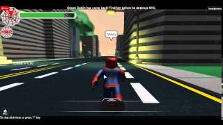 Let's Play The Amazing SpiderMan 2 Roblox #002 Green Goblin und Lizard greifen an