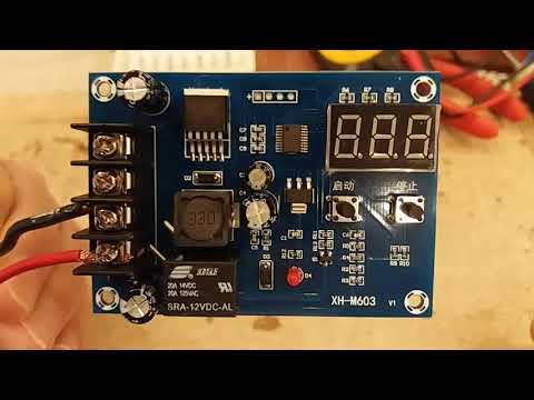 XH-M603 Charge controller 11.5V-24V