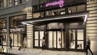 MOXY NYC Times Square Hotel Amenities - New York City Hotel Room Highlights