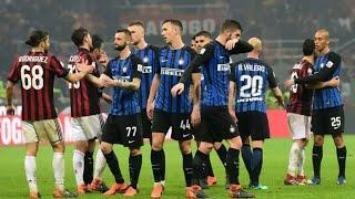 Ac milan, inter inter, serie a, calcio, highlights, derby, ibrahimovic, goals, milan vs lukaku, mila...