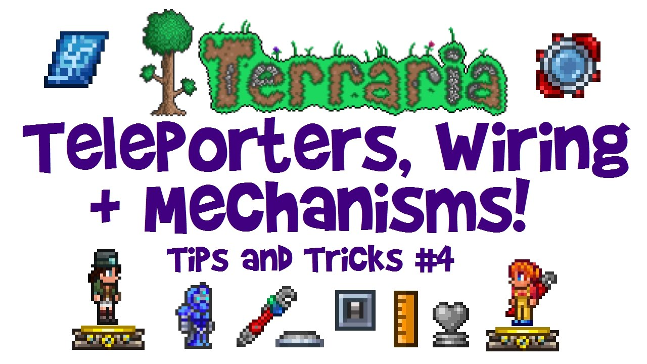 Easy Terraria Teleporter Guide Wiring Tutorial Mechanisms Tips Tricks 1 3 Console Mobile Youtube A small tmodloader mod for terraria, that adds wireless teleporters. easy terraria teleporter guide wiring tutorial mechanisms tips tricks 1 3 console mobile