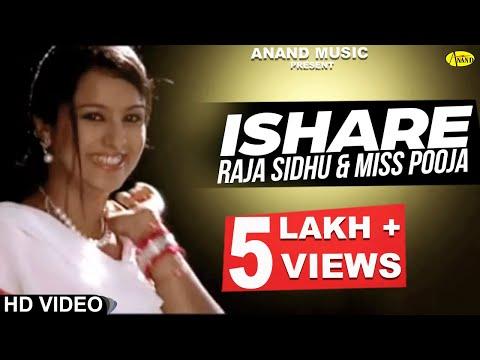 Raja Sidhu ll Miss Pooja || Ishare || New Punjabi Song 2017 || Anand Music