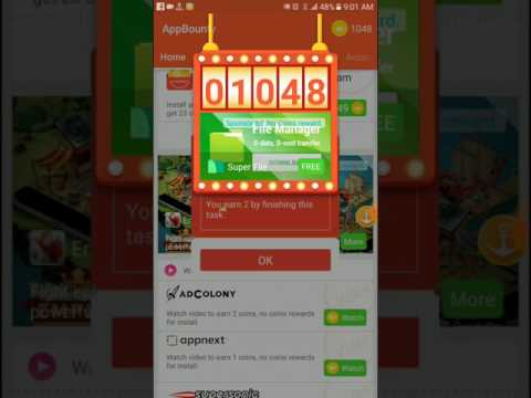 Cash earning android best app in dollors $ unlimited payout through paypal visa master card
