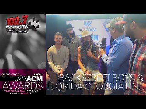 The Backstreet Boys & Florida Georgia Line: Pillow Fights, Campfires, & Bunkbeds