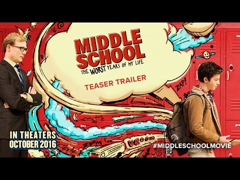MIDDLE SCHOOL: The Worst Years of My Life - Teaser Movie Trailer HD