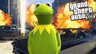 KERMIT the FROG is a GANGSTA from Los Santos (GTA 5 Mods)