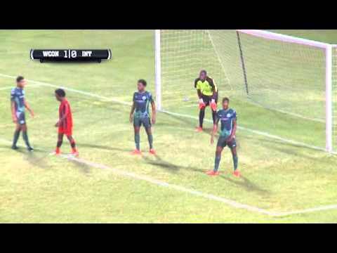 CFU 2016 W Connection vs Inter Moengo Tapoe