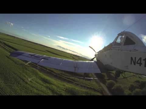 Dromader M-18 Crop Dusting! Go Pro Hero 3+ Black Edition!