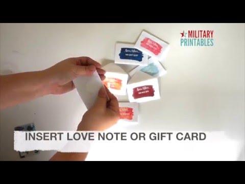 DIY Open When Envelopes Templates