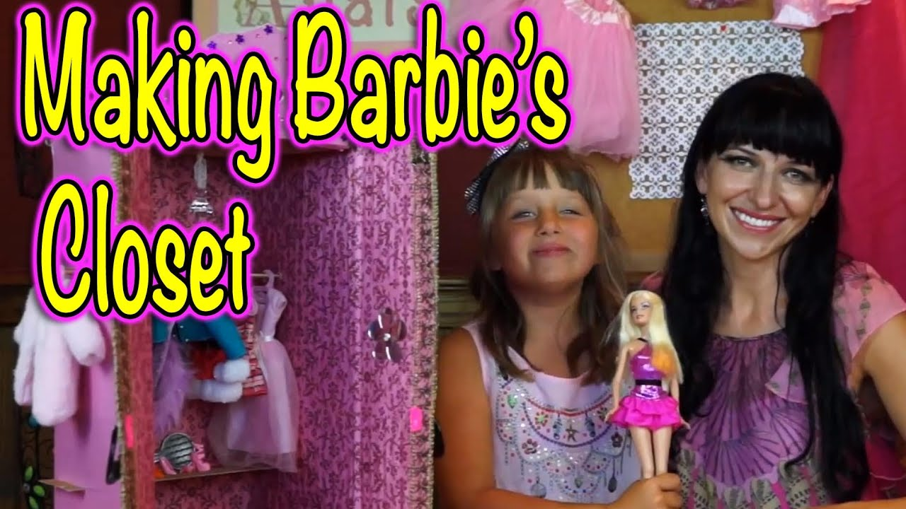 Barbie S Closet How We Make A Cool Accessory For Our
