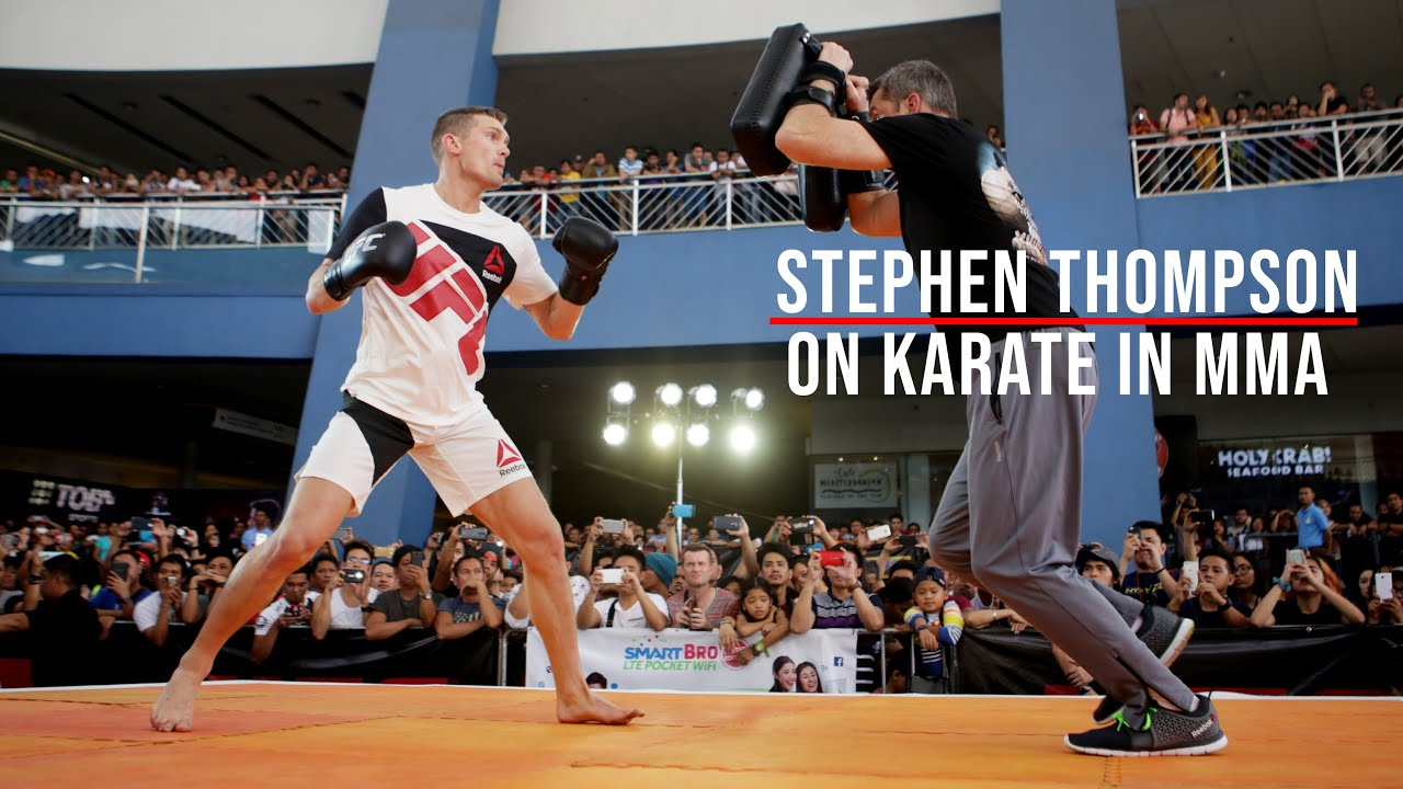 UFC Stephen Thompson Talks How Karate Works for MMA