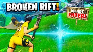 THE FUNNIEST RIFT FAIL EVER! (DO NOT ENTER!) | Fortnite Funny Moments 218