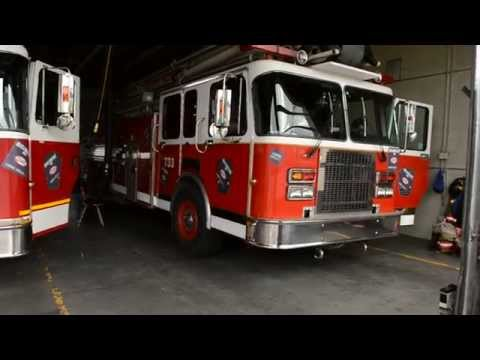 1991 SPARTAN FIRE TRUCK 733 DETROIT DIESEL START UP