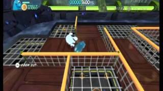 Monsters vs. Aliens Movie Game Walkthrough Part 17 (Wii)