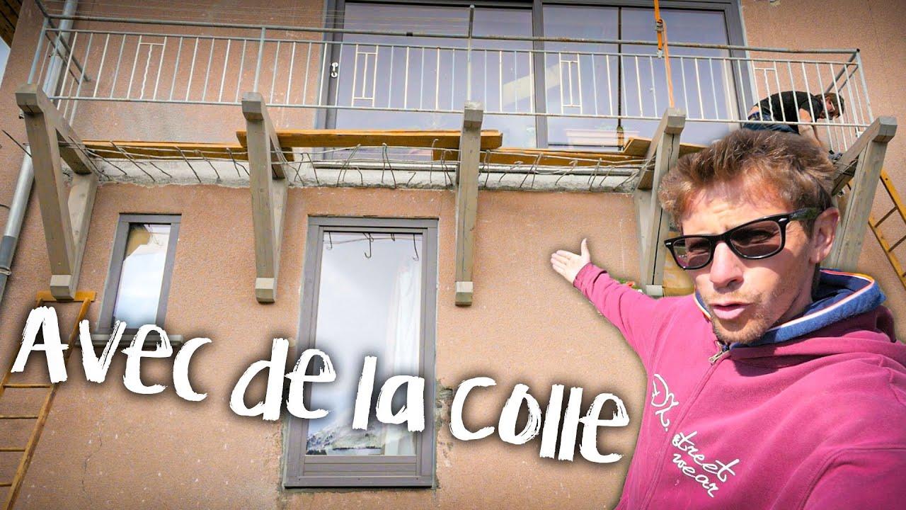 LE BALCON EN BOIS TIENT - Passion Rénovation Ep64 - construction maison travaux DIY BOIS
