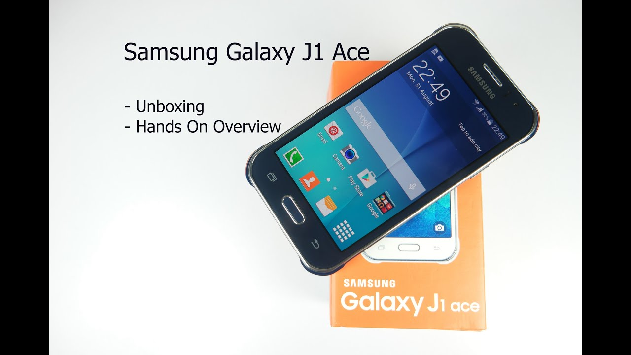 bd919bd832ea2 Samsung Galaxy J1 Ace Unboxing and Hands On Overview - YouTube