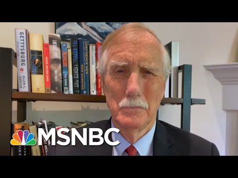 Sen. Angus King: D.C. March Was A Moving, Important Experience | Morning Joe | MSNBC