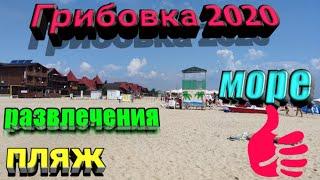 Курорт Грибовка 2020. Отдых в Одесской области. Чистая ли вода? Развлечения на пляже.Базы отдыха.