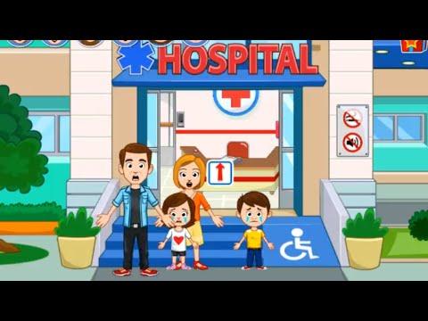 ماي تاون ماذا حصل لجيسي وجيمس my town hospital