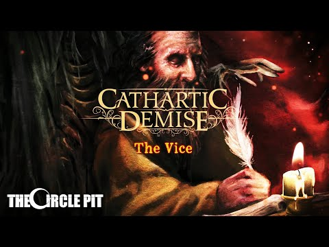 Cathartic Demise - The Vice (Official Lyric Video) [Progressive Thrash Metal - 2019]