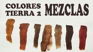 EL MARRÓN, MEZCLAS EXACTAS: COLORES TIERRA 2/2