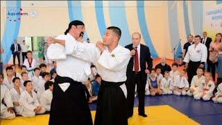 Стивен Сигал провел в Астане мастер-класс по айкидо(http://www.inform.kz/rus/article/2790376., 2015-06-25T08:28:10.000Z)