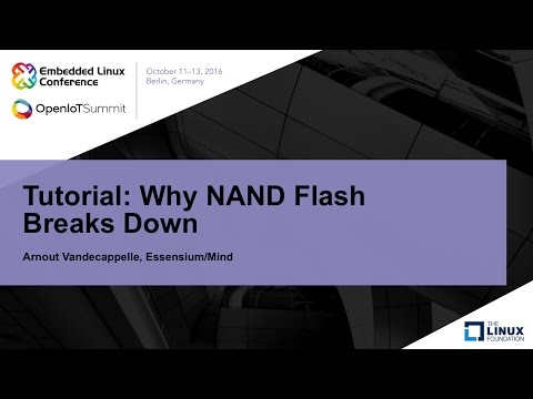 Tutorial: Why NAND Flash Breaks Down