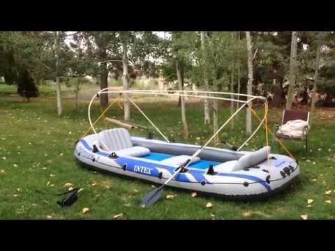 Intex Excursion 5 Inflatable Boat Part 2 Making The