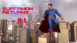 Let's Play Superman Returns (Blind) Part 1- Look in the Sky!