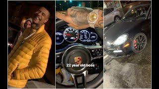 Birdman Gives Blueface A Free Porsche For Being Signed To Cash Money West