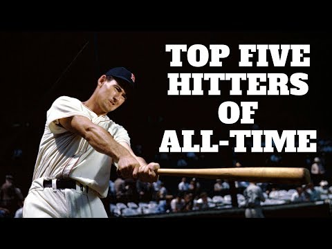 Top 5 Hitters of All-Time