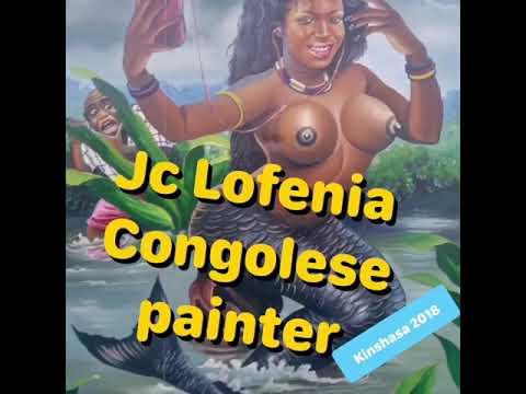Congo Paintings JC.Lofenia peinture Populaire Congolaise, Art contemporain Africain