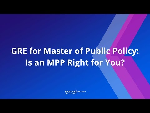 GRE for Master of Public Policy: Is An MPP Right For You? | Kaplan Test Prep