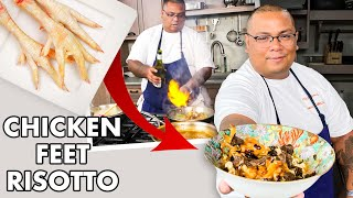 Pro Chef Uses Chicken Feet to Make $100 Risotto | Dish It Out | Bon Appétit