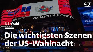 Highlights der US-Wahlnacht