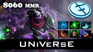 Dota 2 - UNiVeRsE Faceless Void - 8060 MMR Ranked Match