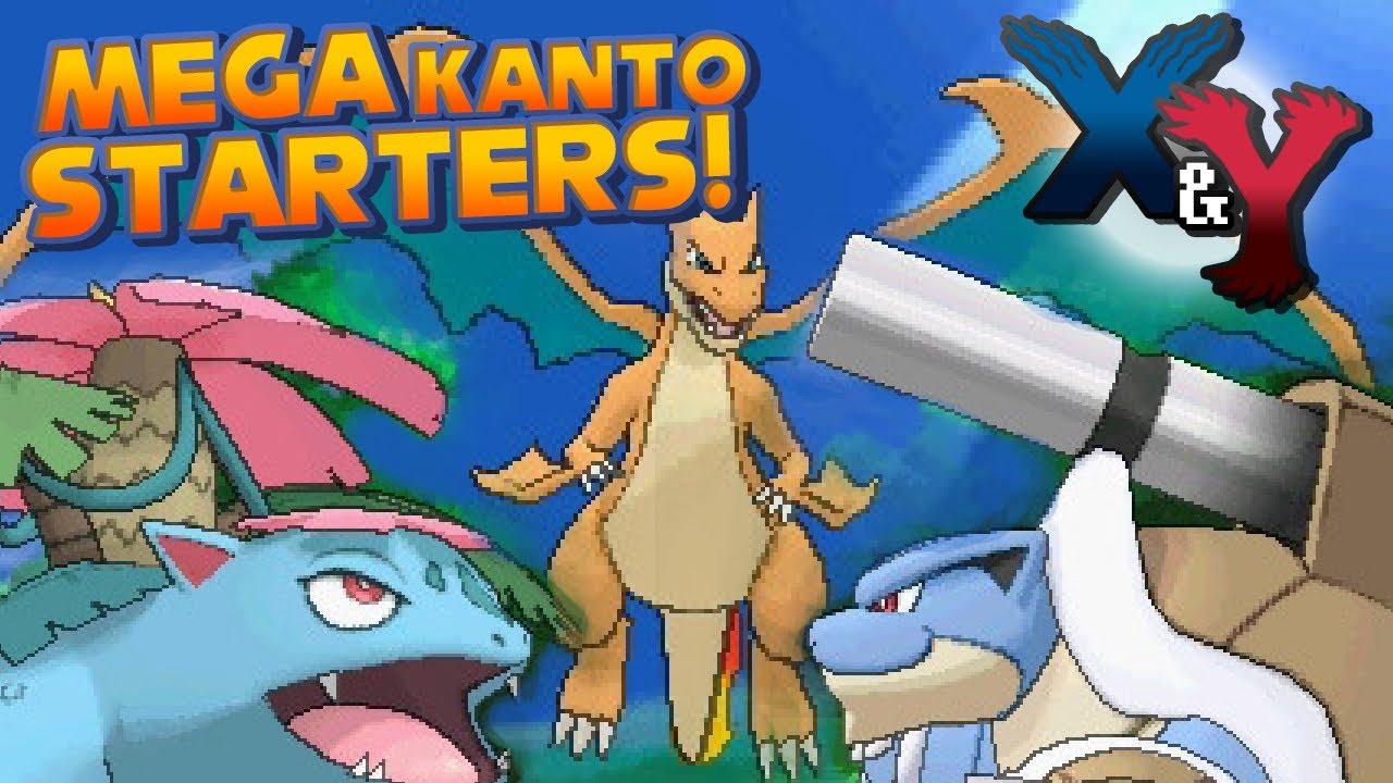 pokemon kanto starters mega - photo #27