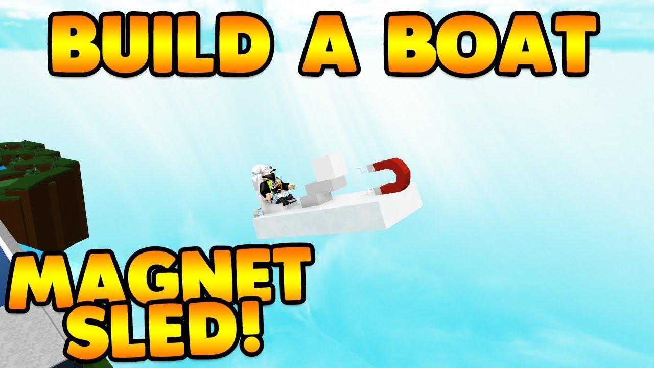 *NEW* SLED MAGNET GLITCH! | Build A Boat For Treasure ROBLOX