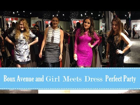 Boux Avenue and Girl Meets Dress Perfect Party
